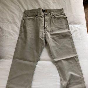 J.Crew 770 Off-White pants